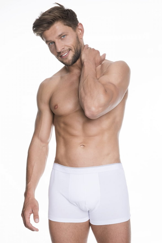 Boxeri pentru bărbați Iron white