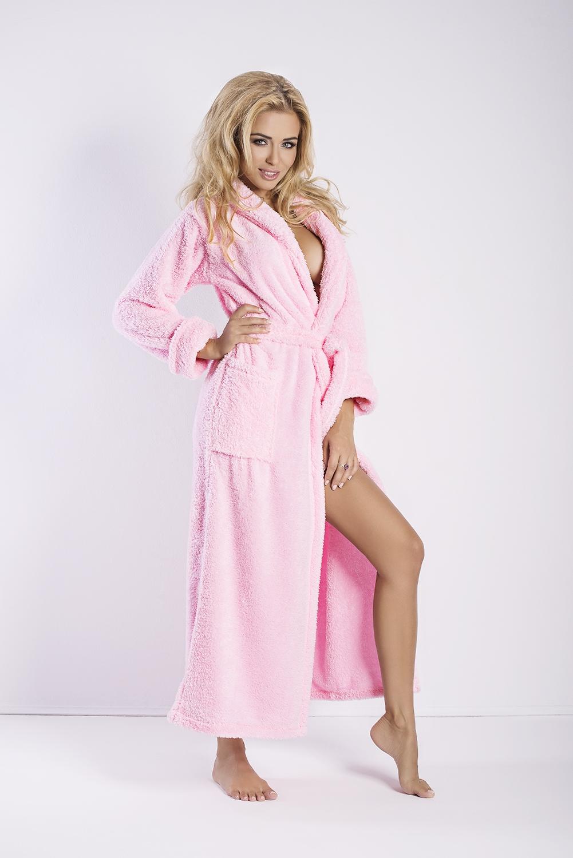 Halat de damă Eliza long pink
