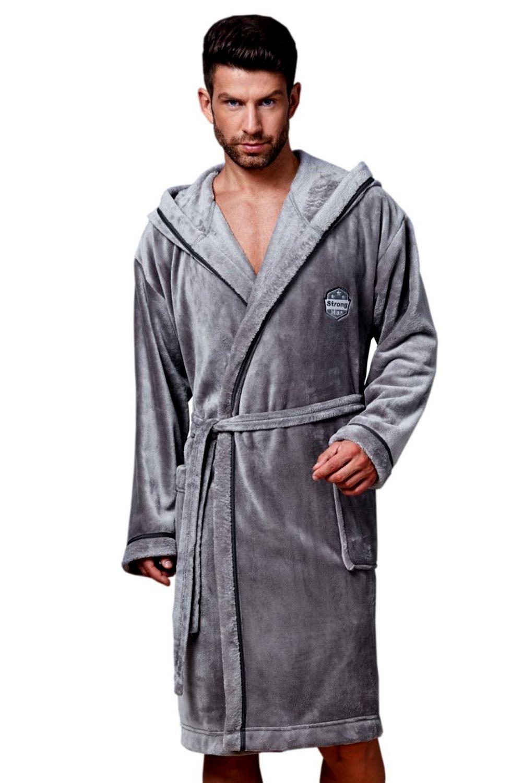 Halat pentru bărbați 7105 grey