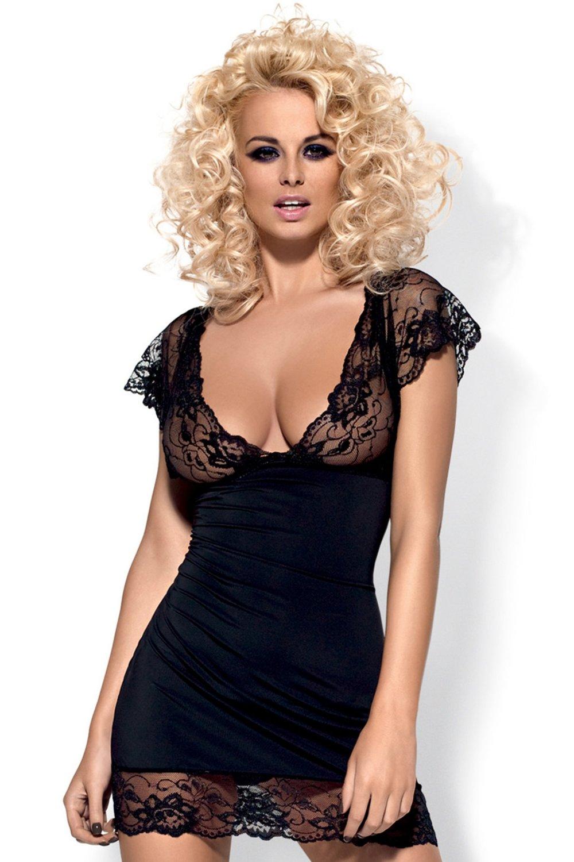 Neglijeu erotic Imperia chemise black