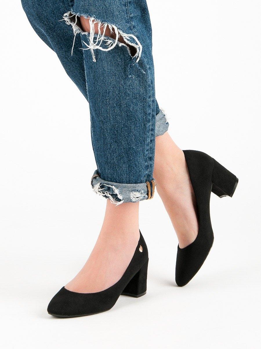 Pantofi cu toc pentru damă 50244