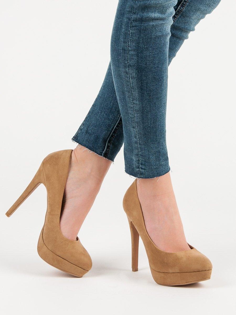 Pantofi cu toc pentru damă 50660
