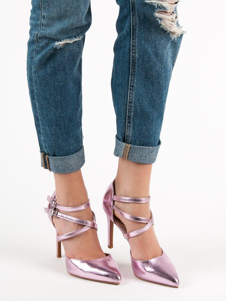Pantofi cu toc pentru damă 55089