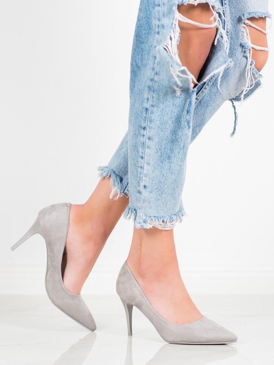 Pantofi cu toc pentru damă 60043