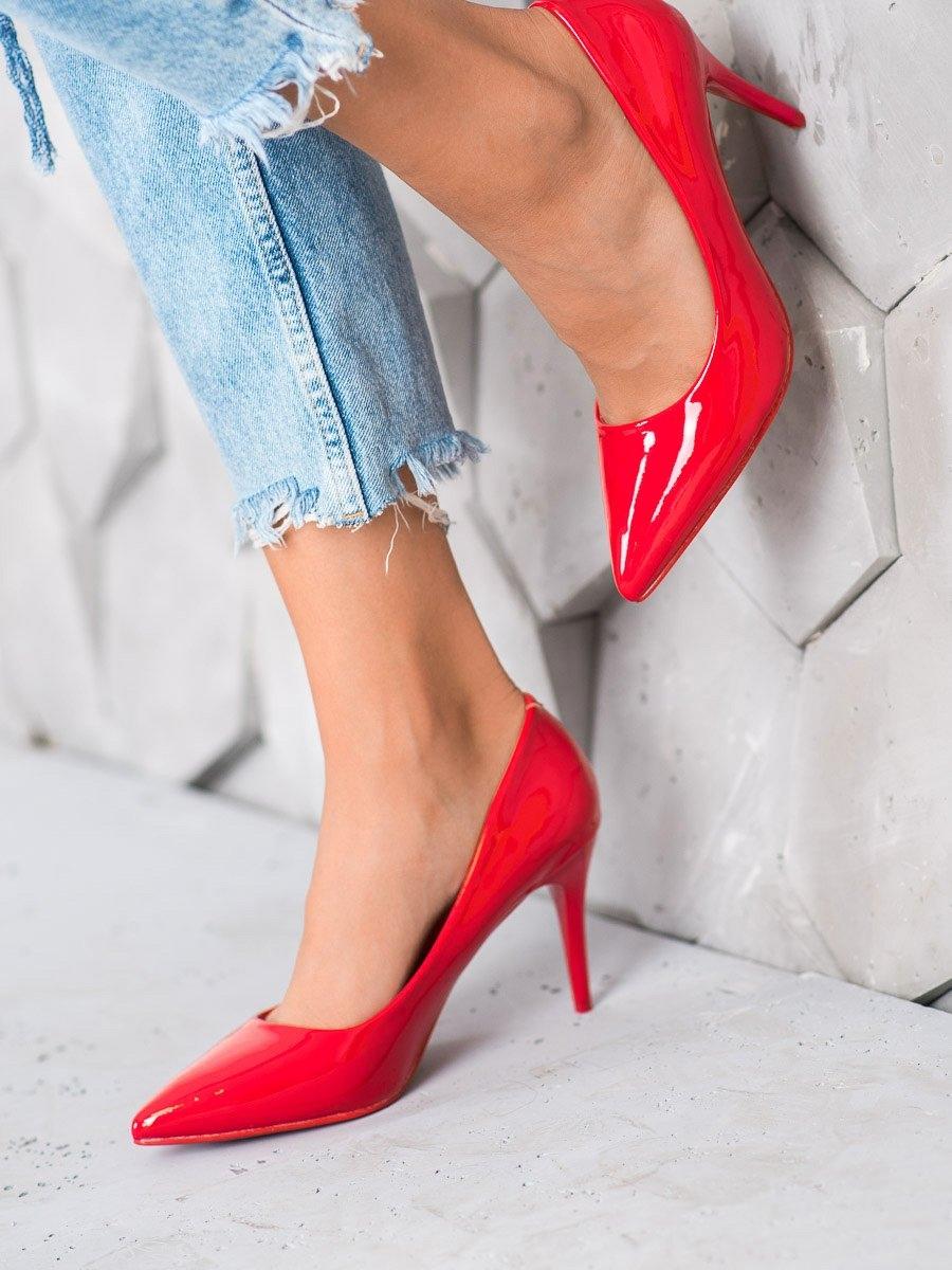 Pantofi cu toc pentru damă 60227