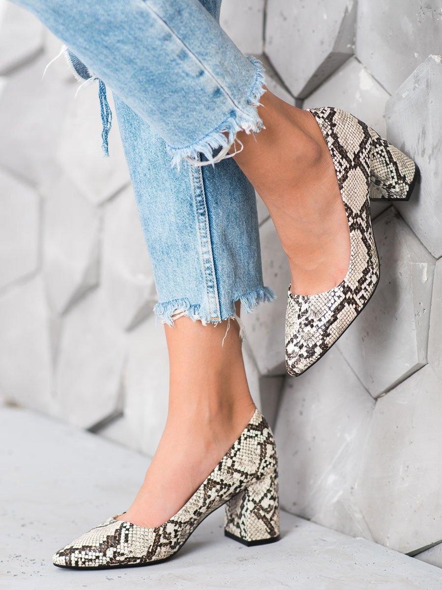 Pantofi cu toc pentru damă 60238