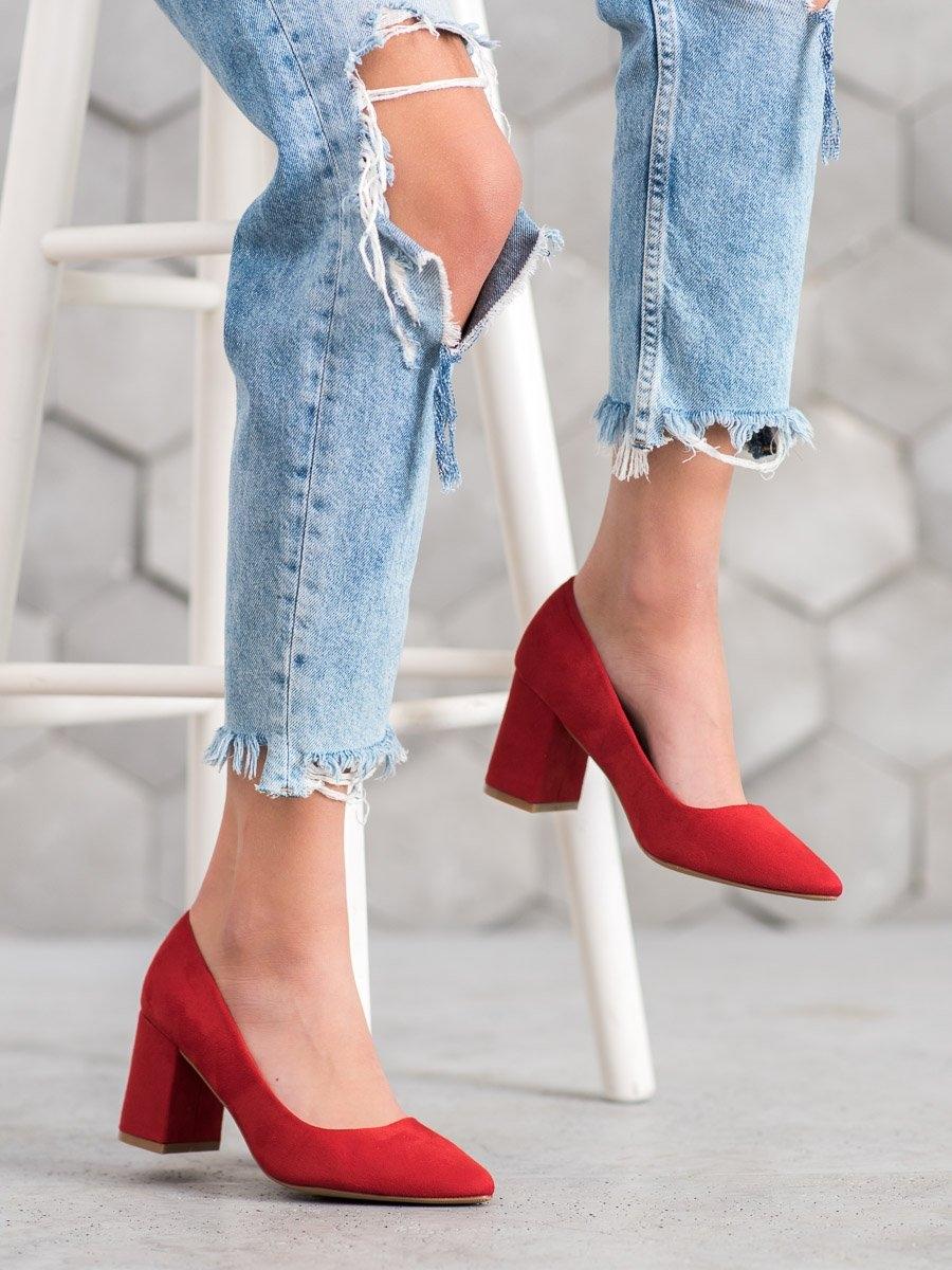 Pantofi cu toc pentru damă 60333