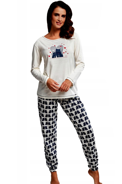 Pijama de damă 685/160 Two cats
