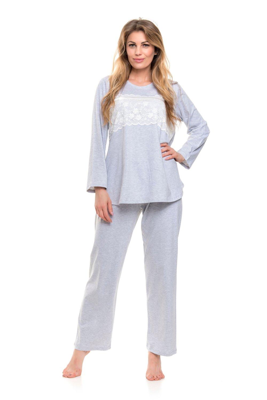Pijama de damă 9146 grey
