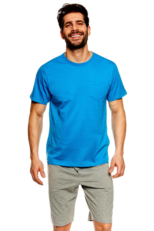 Pijama pentru bărbați 36600 Universe blue