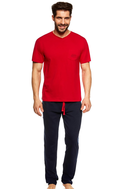 Pijama pentru bărbați 36829 Upon red