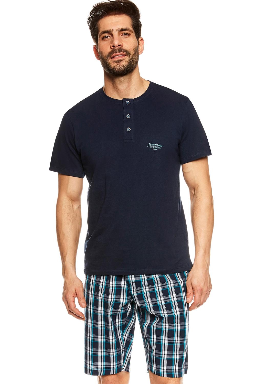 Pijama pentru bărbați 36830 Urge dark blue