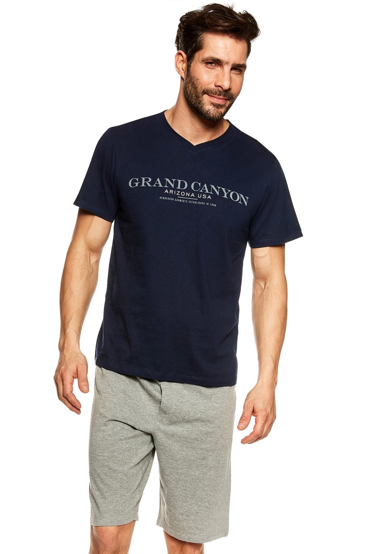 Pijama pentru bărbați 36831 Urso blue